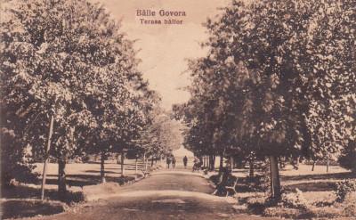 BAILE GOVORA TERASA BAILOR  LIBRARIA ANASTASIU & PETRESCU RM. VALCEA CIRC.1926 foto