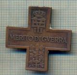 """ZET 465 MEDALIA CRUCEA ,,MERITUL DE RAZBOI"""" -VICTOR EMANUEL III -REGELE ITALIEI"""