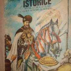 Povestiri istorice partea a 2-a cu ilustratii/103 pag/an 1987- Dumitru Almas - Carte de povesti