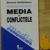 Media si conflictele Simona Stefanescu - Carte Sociologie