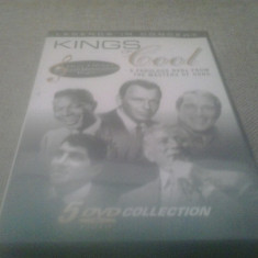 Kings of Cool - Frank Sinatra / Nat King Cole / Dean Martin / Perry - DVD [B] - Teatru, Engleza