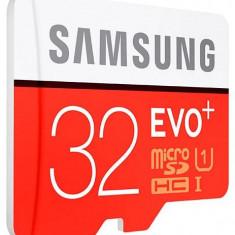 Card memorie Samsung Evo+ MB-MC32DA/EU microSDHC 32 GB clasa 10 UHS-1 W/AD SM + adaptor