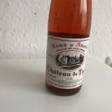 Vin rosu de colectie vechi Chäteau de Tigne Rosé d´Anjou 1988 - Vinde Colectie, Aroma: Sec, Sortiment: Alb, Zona: Alta