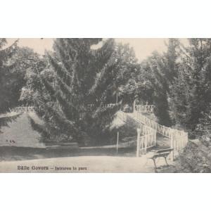 BAILE GOVORA INTRAREA IN PARC LIBRARIA ANASTASIU & PETRESCU RM. VALCEA CIRC.1929