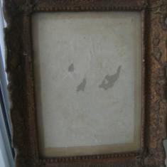 Rama veche, din lemn, stare buna, de colectie/decor. - Rama Tablou, Decupaj: Dreptunghiular