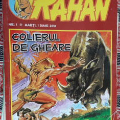 RAHAN - COLIERUL DE GHEARE - Reviste benzi desenate