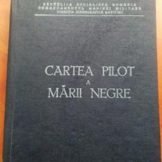 Cartea Pilot A Marii Negre. Comandamentul Marinei Militare - Mangalia, 1981 - Carti Transporturi