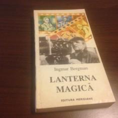 INGMAR BERGMAN, LANTERNA MAGICA, Meridiane 1994 - Carte Cinematografie