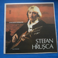 VINIL Muzica Folk electrecord-STEFAN HRUSCA