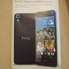 Vand telefon HTC DESIRE 626G+ Dual SIM, Blue, Albastru, 8GB, Neblocat, 1 GB