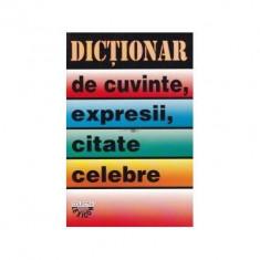 I. Berg - Dictionar de cuvinte, expresii, citate celebre (editie 1996)