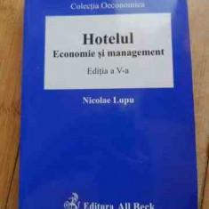 Hotelul Economie Si Management - N. Lupu ,536814