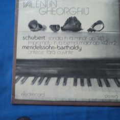 VINIL Muzica Clasica electrecord-VALENTIN GHEORGHIU