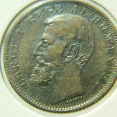 """1 leu 1900 România, varianta """"riduri pe nas"""" - Moneda Romania"""