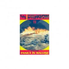 Shaun Clarke - Panica în Malvine (Seria DRAGON nr. 11) - Carti Beletristica