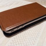 iPhone 4 Apple, 8 GB, negru, cu husa piele flip verticala, ireprosabil, nota 10/10, Neblocat