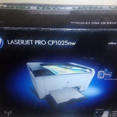 Imprimanta LaserJet Wireless Color HP CP1025nw -NOUA! - Imprimanta laser color HP, DPI: 600