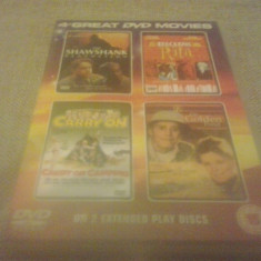 4 Sci - Fi Films - DVD [C, cad] - Film SF, Engleza