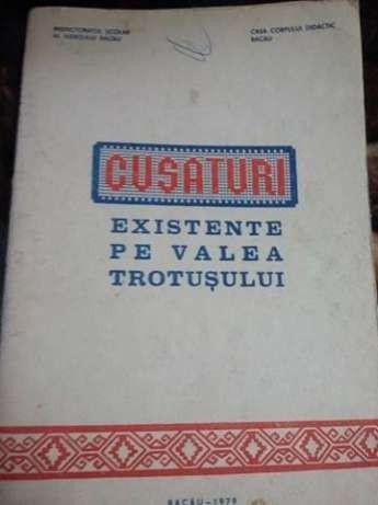Carte veche lucru manual.Cusaturi Existente Pe Valea Trotusului-1979,T.GRATUIT