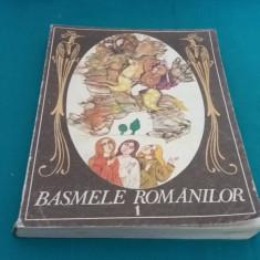 BASMELE ROMÂNILOR *VOL. I/ ILUSTRAȚII DONE STAN/1984 - Carte Basme