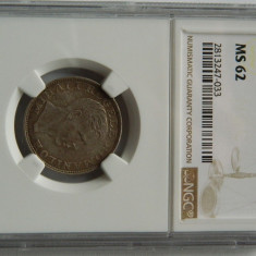 200 lei 1942 NGC, MS62 - Moneda Romania