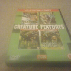 Hollywood DVD - Creature Fatures - DVD [B, cad] - Film SF, Engleza