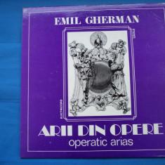 VINIL OPERA-EMIL GHERMAN - Muzica Opera electrecord