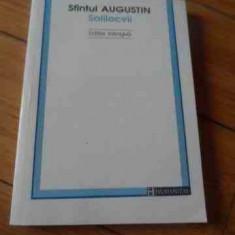 Solilocvii Editie Bilingva - Sfintul Augustin, 536624 - Filosofie