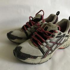Adidasi panza de vara Asics mar. 38 - Adidasi dama, Culoare: Negru, Marime: 41.5, Piele naturala
