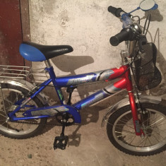 Bicicleta copii Generic, 15.5 inch, 11 inch, Numar viteze: 1