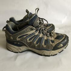 Adidasi panza treking North Face mar. 40 - Adidasi dama, Culoare: Negru, Marime: 41.5, Piele naturala