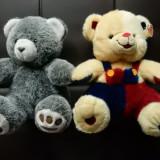 Set 2 jucarii ursuleti panda plus; 37 cm inaltime - Jucarii plus