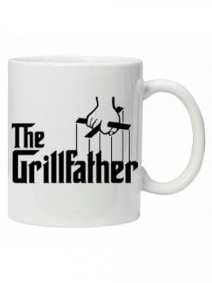Cana  The Grillfather, cana personalizata,cana ceai, cana cafea,cana funny foto