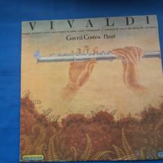 VINIL Muzica Clasica electrecord VIVALDI-FLAUT COSTEA GAVRIL