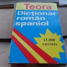 Cristina Haulica - Dictionar roman - spaniol (15.000 cuvinte)