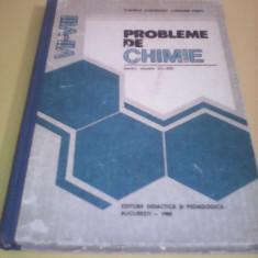CULEGERE PROBLEME DE CHIMIE CLASELE VII-VIII CORNELIA GHEORGHIU 1982