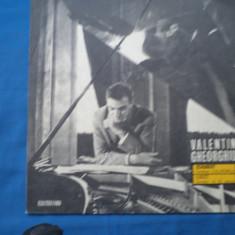VINIL MUZICA CLASICA-VALENTIN GHEORGHIU PIAN, electrecord