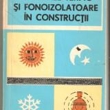 Materiale termo si fonoizolatoare  in constructii