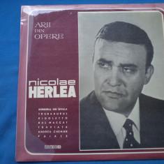 VINIL OPERA-NICOLAE HERLEA - Muzica Opera electrecord