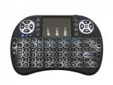 Tastatura iluminata alb Smart Tv Windows Android Xbox TV BOX PS3 PC laptop, Bluetooth, Fara fir