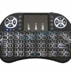 Tastatura iluminata alb Smart Tv Windows Android Xbox TV BOX PS3 PC laptop