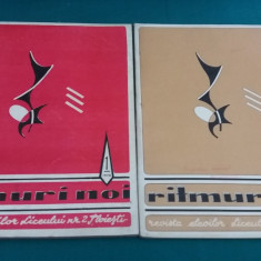 RITMURI NOI* REVISTA ELEVILOR LICEULUI NR.2 PLOIEȘTI/ NR.1 ȘI 2*1970 - Revista scolara