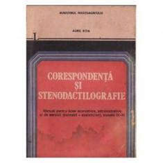 Aurel Boia - Corespondenta si stenodactilografie - manual