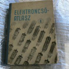 Catalog cu tuburi electronice in l. maghiara ELKTRONCSÖ - ATLASZ