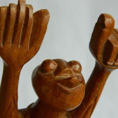 Sculptura lemn SASE