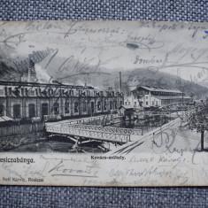 Vedere - Carte postala - Resita 1900 - Uzina