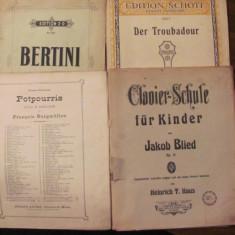 PVM - 4 partituri interbelice PIAN / 40 lei bucata / cititi, va rog, descrierea - Partitura