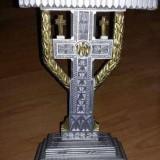 Troita sculptata de mana artizanat bisericeasca in stil brancovenesc
