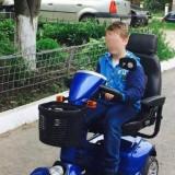 Carucior Electric Toledo - Scaun cu rotile