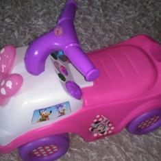 Vand masina pentru copii - Disney Minnie Mouse (Ride-On Car)
